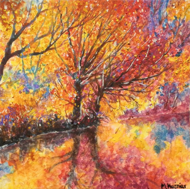 Płomienne drzewa