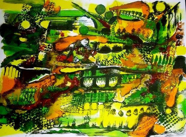 Żółte ogrody
